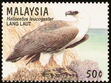 Australia Eagle Stamp Malasysia