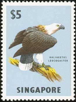 HongKong Eagle Stamp Singapore